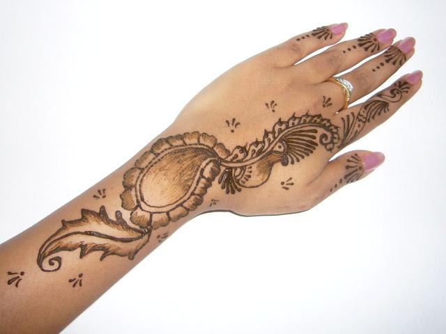 My Quotes Valentines Day Mehndi Design 2013 Best Mehndi Design
