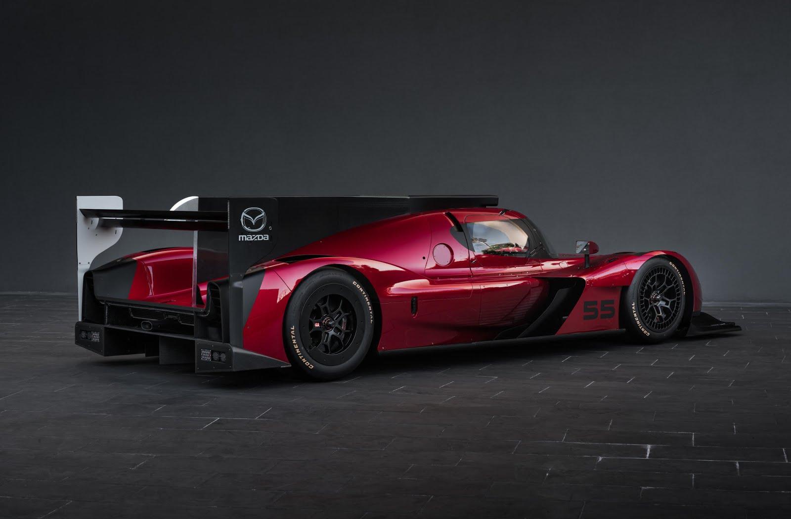 m e m o mazda rt24p prototype race car