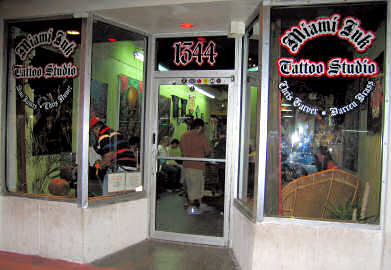 Miami ink tattoos shop for Tattoo shops in miami beach