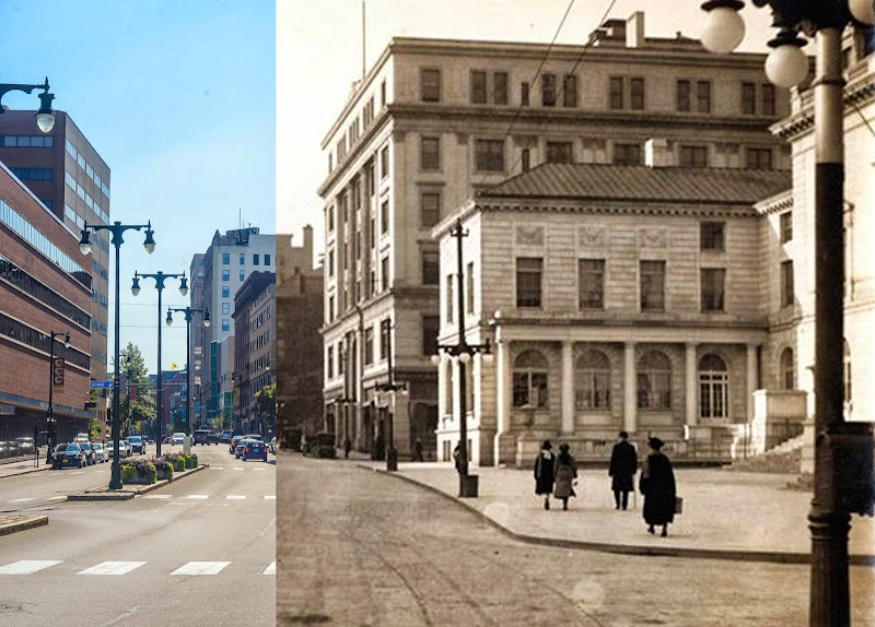 Portland, Maine Then and Now photo city hall congress street photo by corey templeton