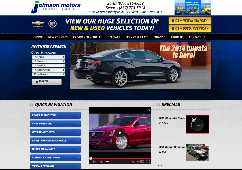 Johnson motors dubois pa our new johnson motors for Johnsons motors dubois pa