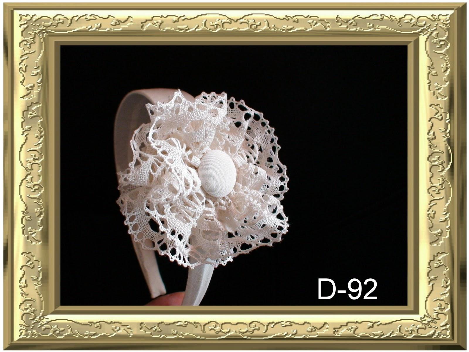 D amores diademas y complementos diademas encajes y - Diademas de encaje ...