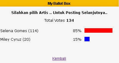 HASIL VOTE