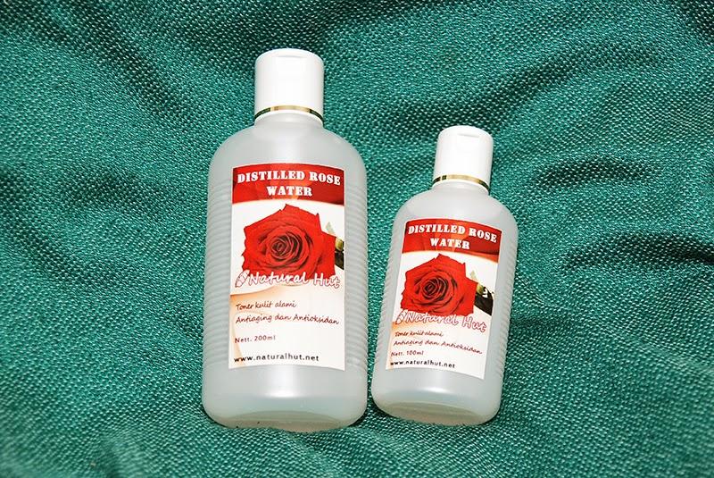 perawatan kulit jerawat air mawar