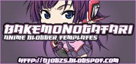 bakemonogatari blogger templates