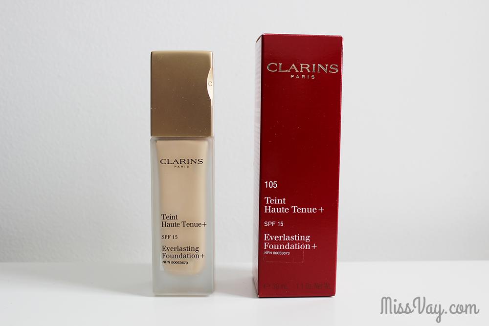 Fond de Teint Haute Tenue+ FPS 15 de Clarins