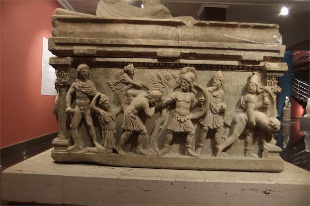 Sala de los Sarcófagos - Museo Arqueológico de Antalya