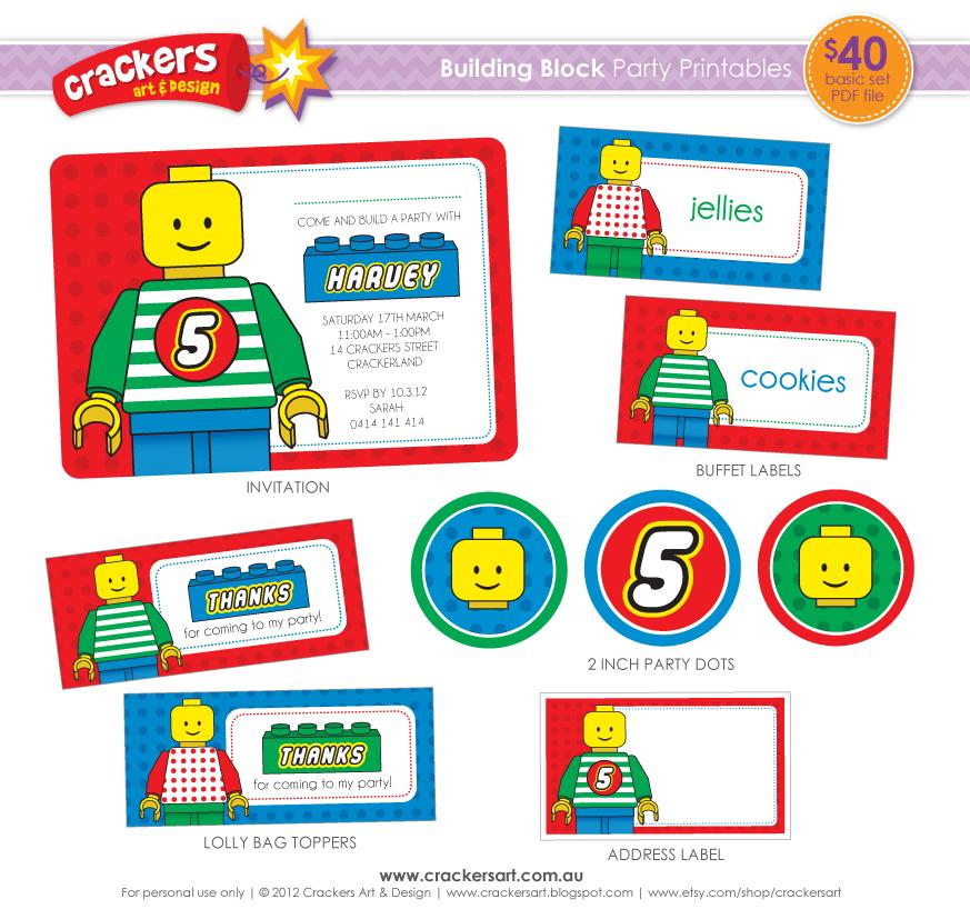 Lego Printables | New Calendar Template Site