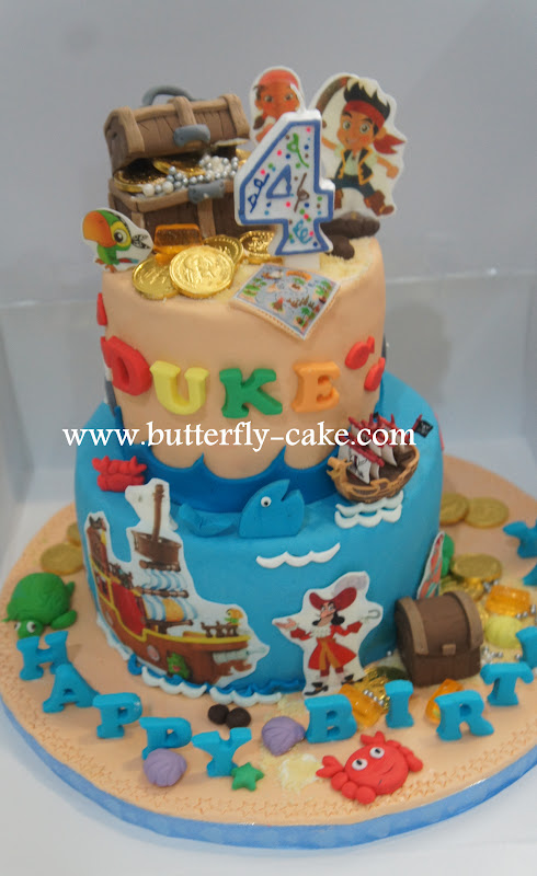 jake and the neverland pirates tiered cake - photo #21