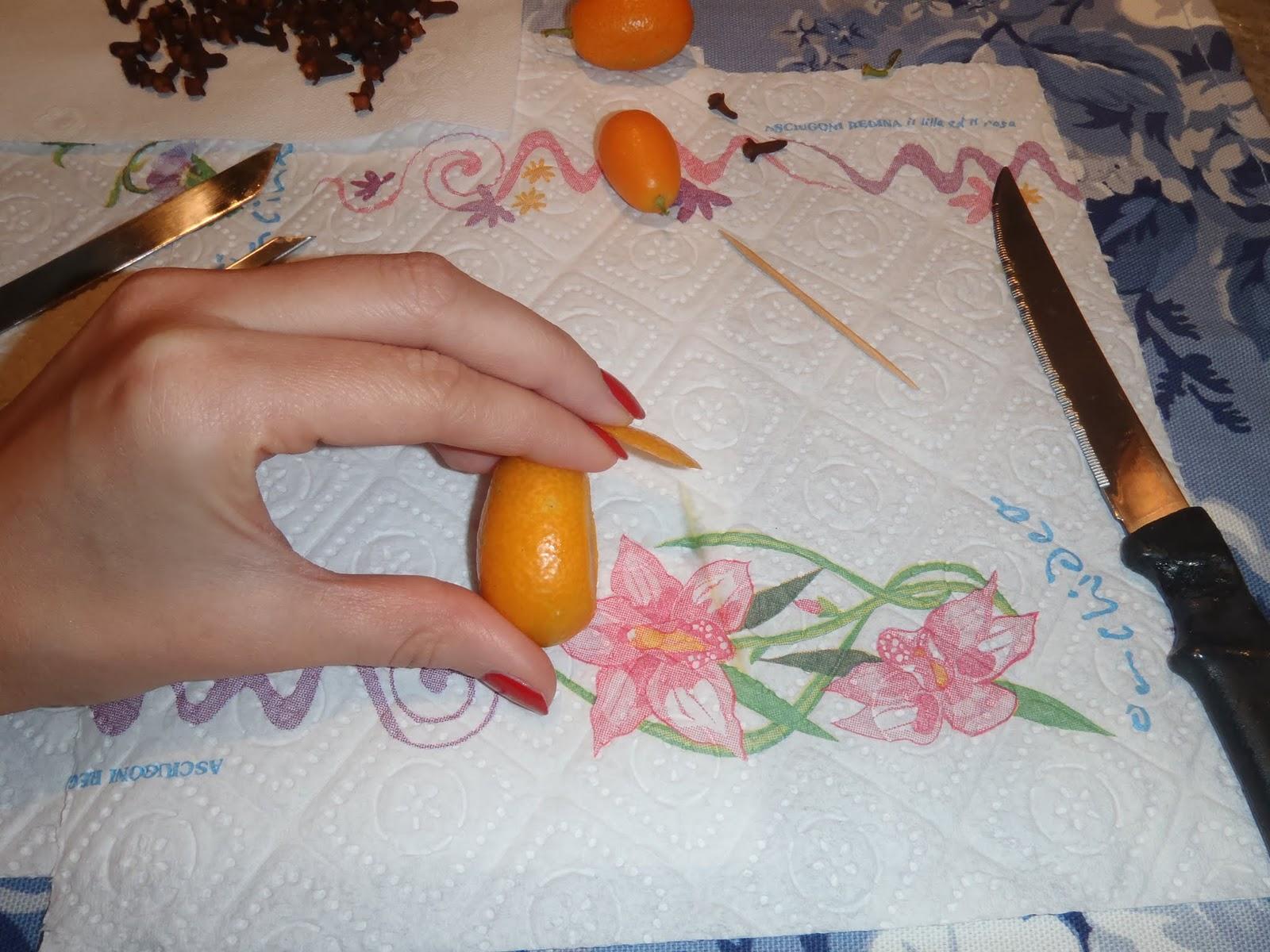 le ricette di nonna lucia ita decorazione pesciolini On decorazione kumquat