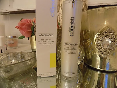 Skin Chemists advanced Bee venom duo moisturiser review