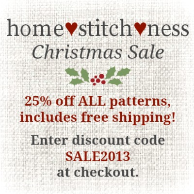 cross stitch pattern sale
