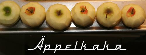 apples / äpplen