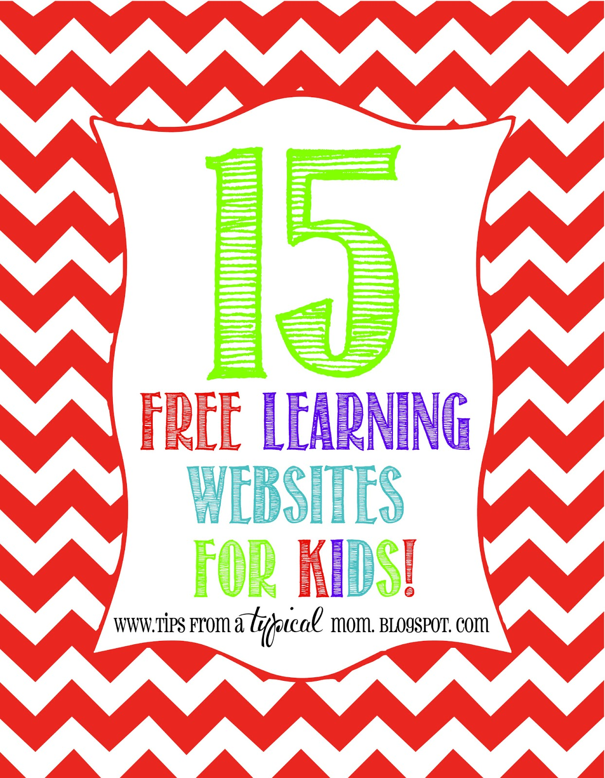 15 Free Learning Websites for Kids - Tips from a Typical Mom
