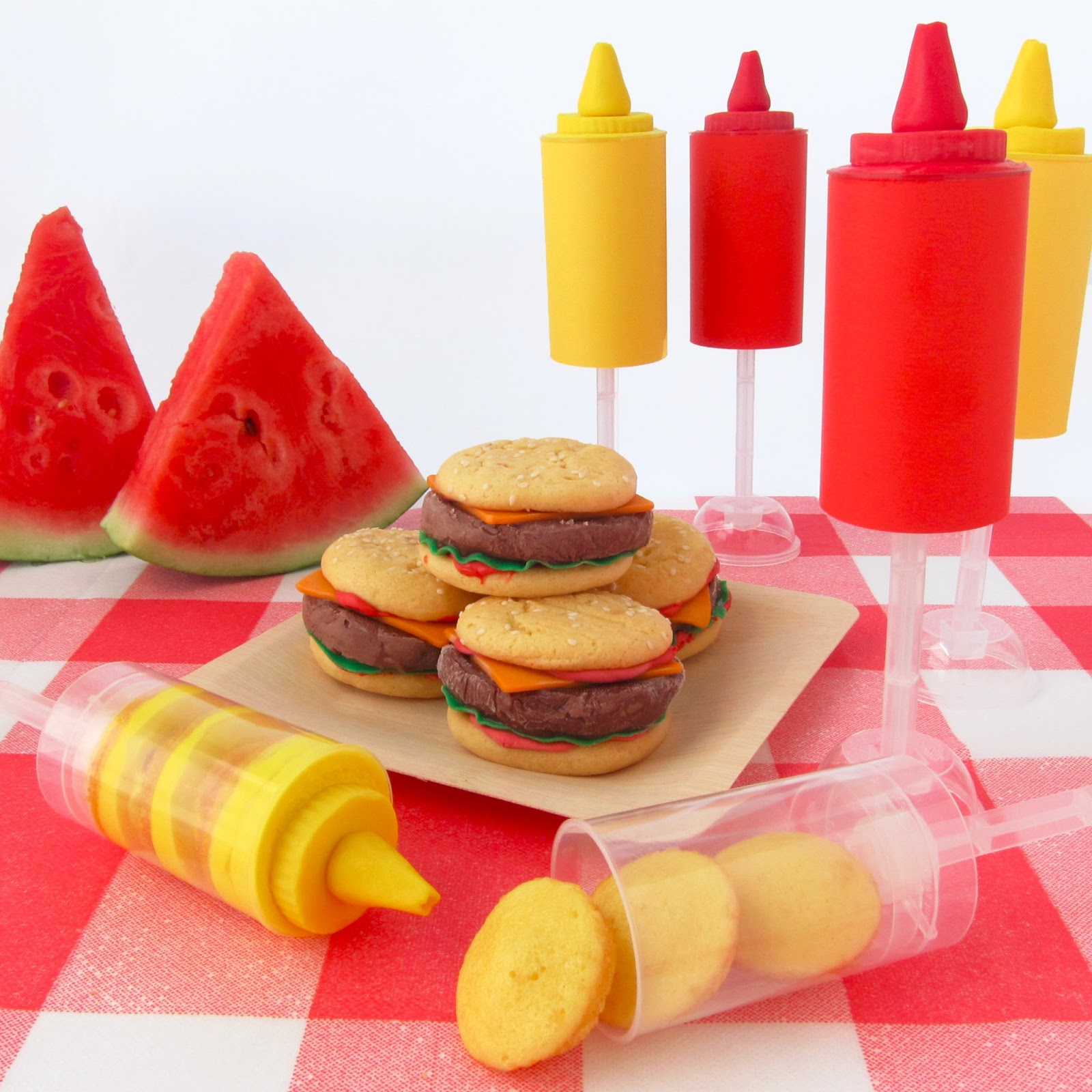 ketchup and mustard push up pops hungry happenings. Black Bedroom Furniture Sets. Home Design Ideas