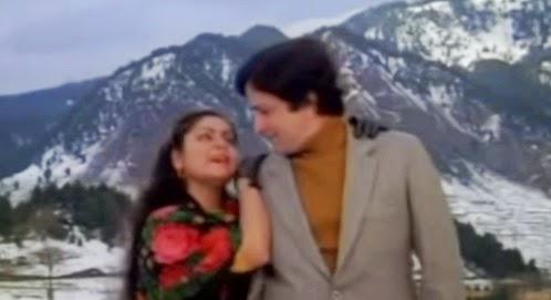 Mujhe Aisa Mila Moti, Aisa Moti Koi Sagar Me Na Hoga Lyrics - Pighalta Aasman (1985)