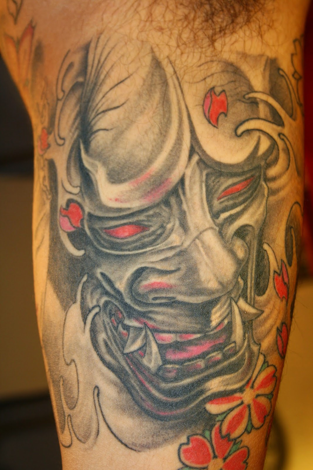 Что означают тату с демонами