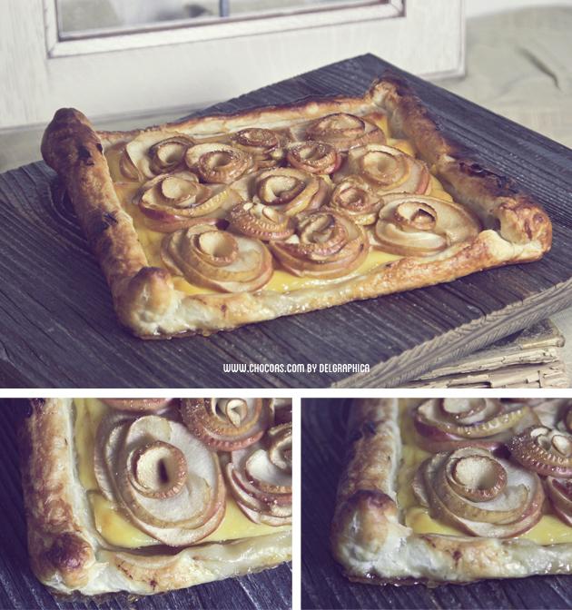 tarta manzana día de la madre