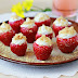 How To Make Cheesecake Stuffed Strawberries