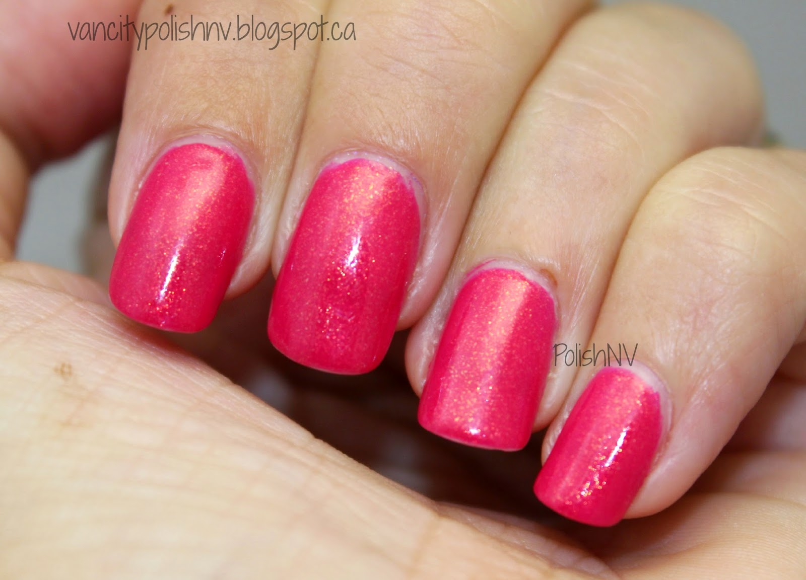 China Glaze Strawberry Fields Swatches