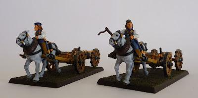 Bronzino's Galloper Guns