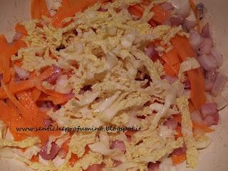 Sformatini di Cous cous in crosta di verza