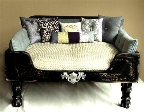Condo blues 19 diy dog beds - How to make dog furniture ...