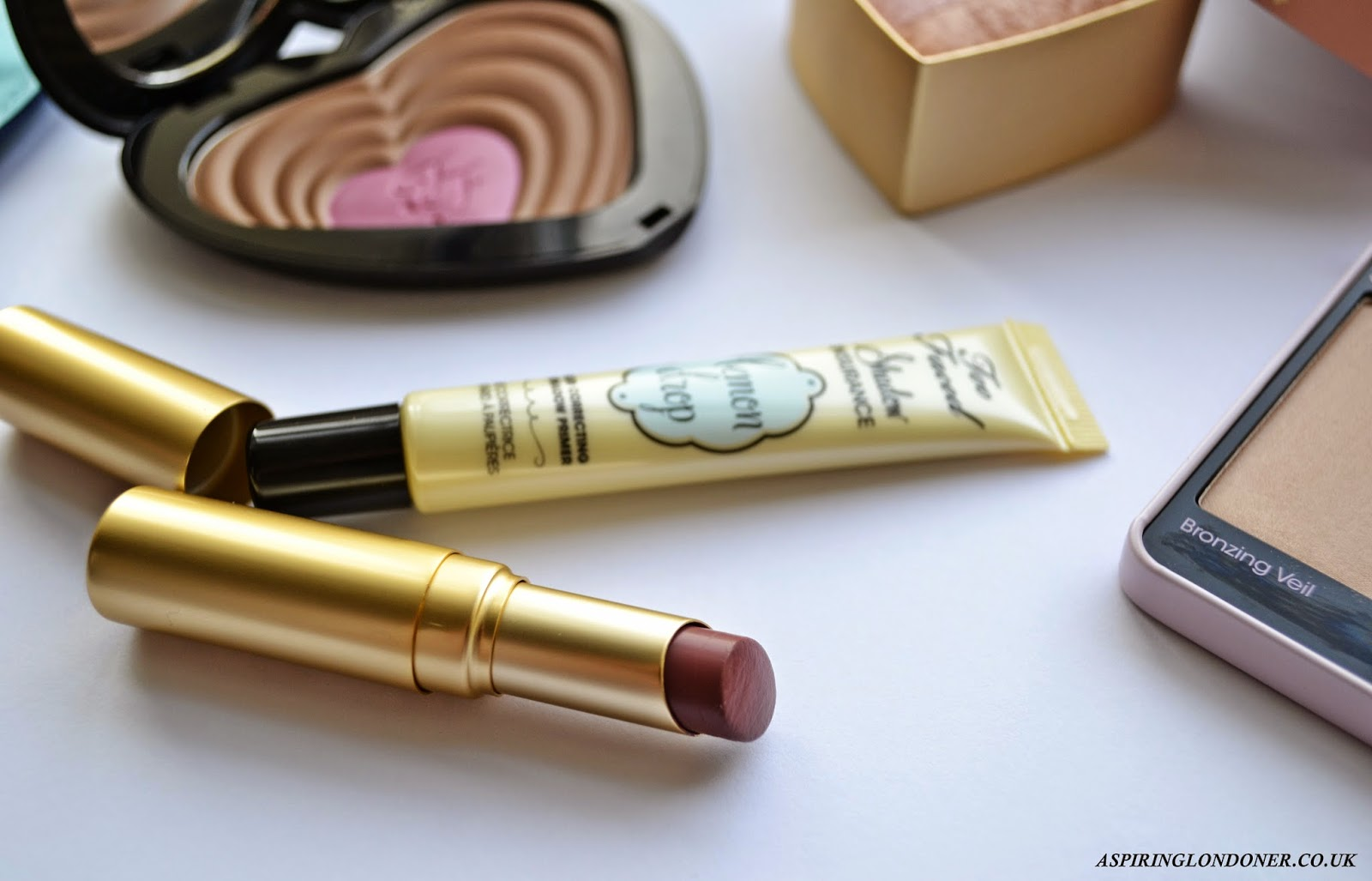 Too Faced La Crème Color Drenched Lip Cream in Sweet Maple Review - Aspiring Londoner