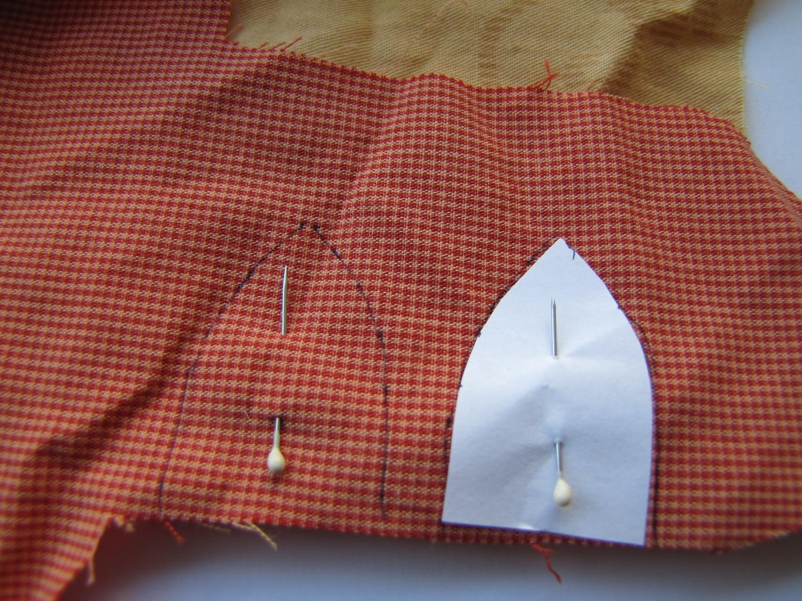 Ушки для лошади из ткани
