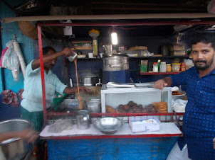 Preperation of tea at a roadside tea stall in Ernakulam Vegetable market.l