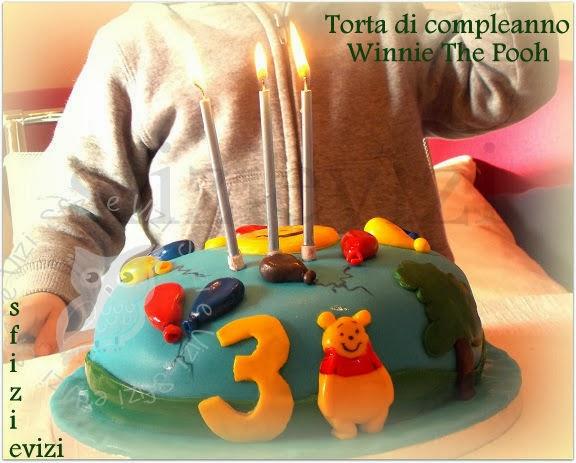 torta di compleanno winnie the pooh in 2d - ricetta senza latte e derivati -