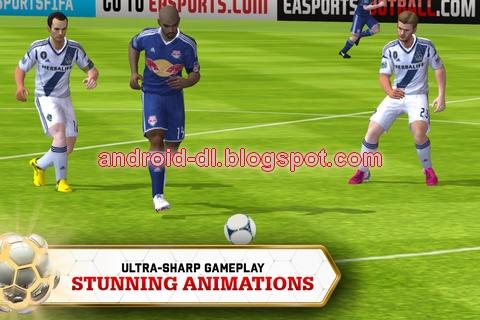 Fifa13) Fifa soccer 13 EA sports Android APK + SD data files , all