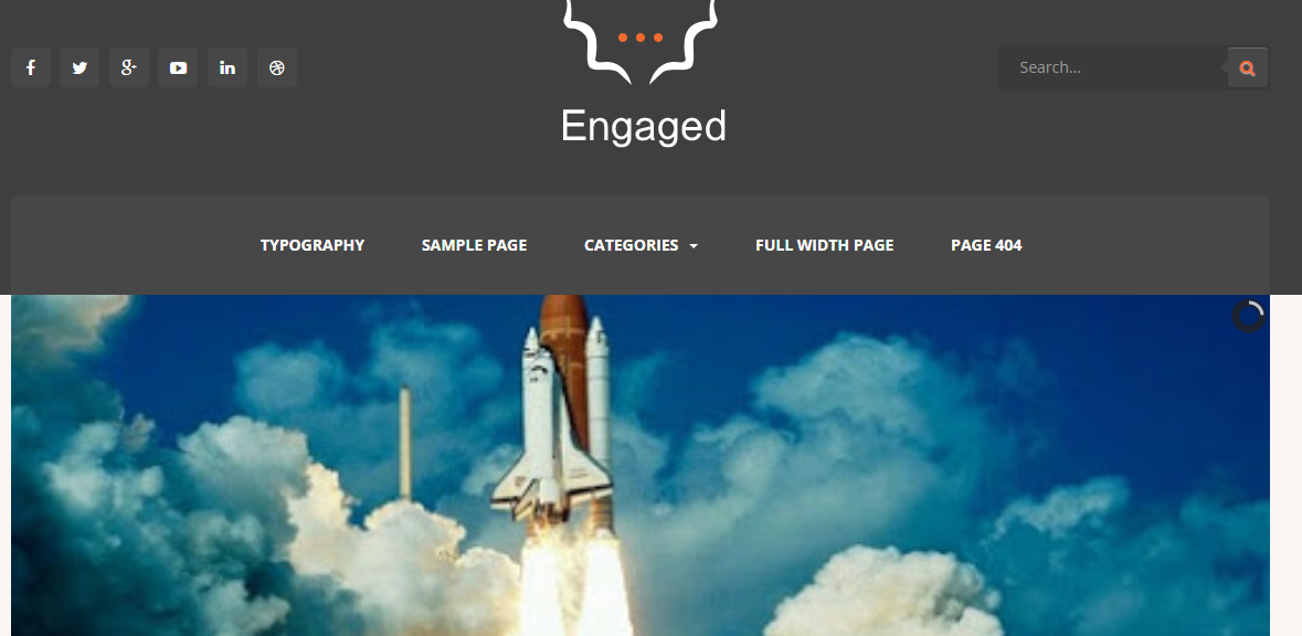 Download Engaged Free Blogger Template