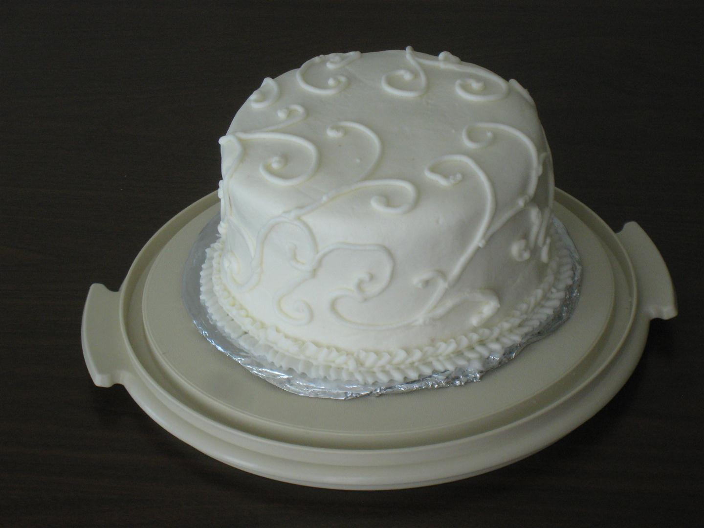 Gallery For Easy Homemade Wedding Cakes