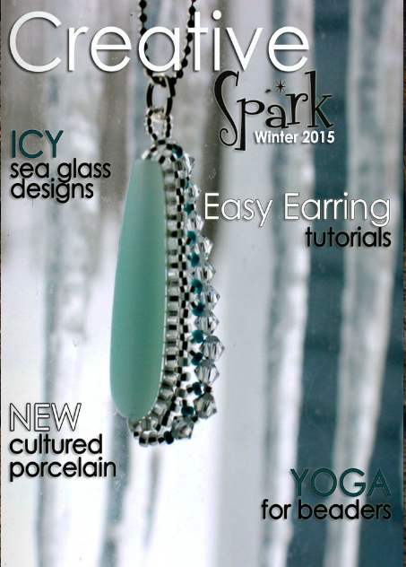 Cover, Creative Spark magazine edited by Hope Smitherman and produced by ZnetShows