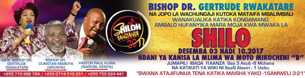 SHILO TANZANIA 2017