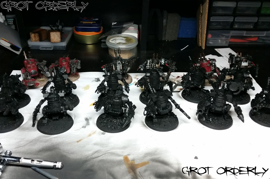 grot orderly, warhammer, games workshop, 40k, killa kan, killa kans, kans, orks, orki