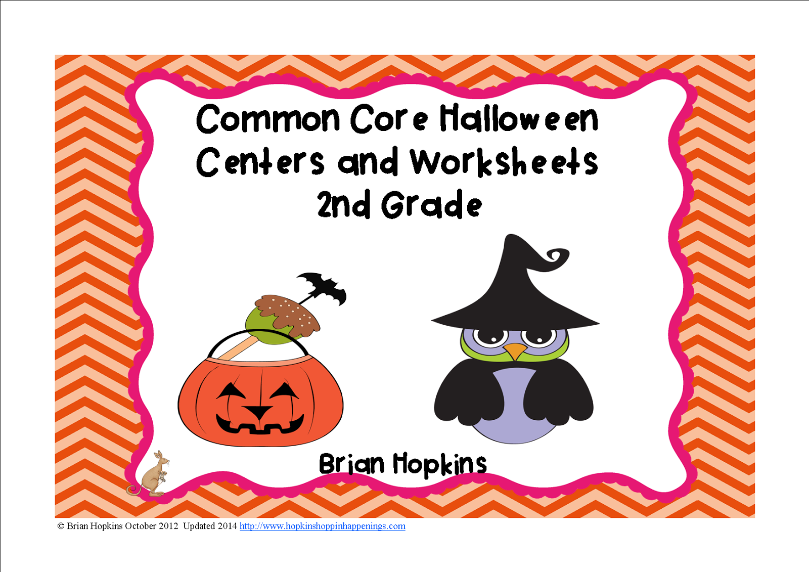 http://www.teacherspayteachers.com/Product/Halloween-Themed-2nd-Grade-Reading-and-Math-Centers-and-Worksheets-354254