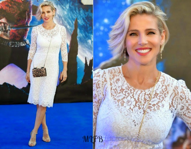 Elsa Pataky In Dolce & Gabbana   'Guardians Of The Galaxy' London