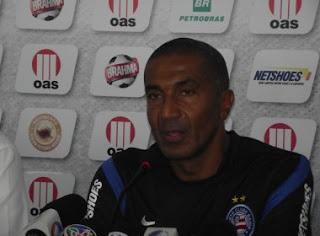 Entrevista coletiva de Cristóvão Borges após Bahia 3x0 Flamengo