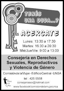 Consejería en Derechos Sexuales y Reproductivos y Violencia de Género