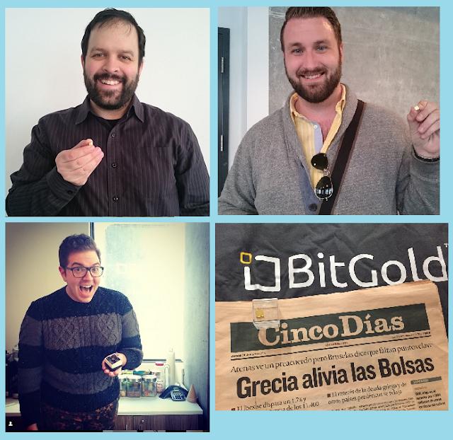 Comprobante de pago de Bitgold