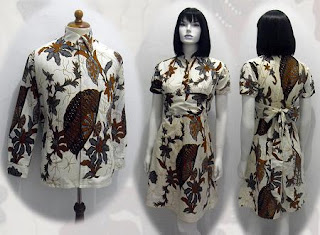 PO C MODEL BAJU BATIK WANITA MODERN