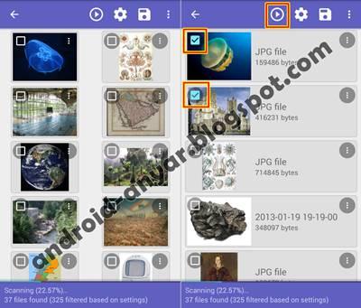 Trik Mengembalikan Foto yang Terhapus di Android
