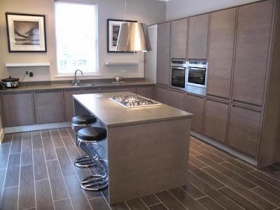 Qu color de silestone pongo en mi cocina 2 parte for Cocina equipada negro y gris