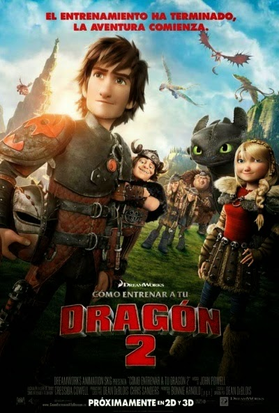 Cómo entrenar a tu dragón 2 (How to Train Your Dragon 2) online en español gratis en HD