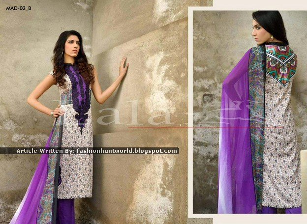 Lala Madham Lawn Collection 2015 For Women