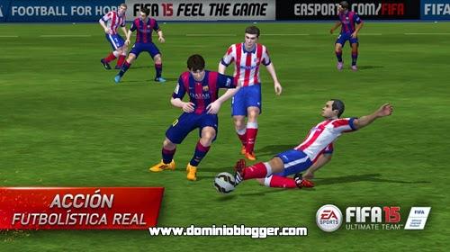 Juega gratis al FIFA 15 Ultimate Team en tu telefono movil