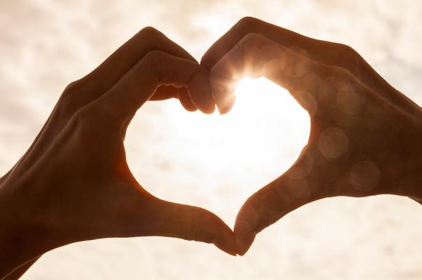 hands forming the heart.- #hand #heart