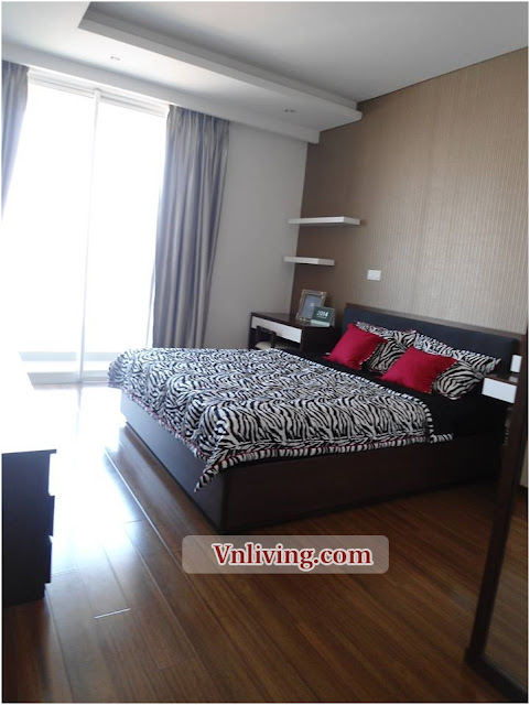 Apartment in District 2 for rent 2 bedroom has balcony